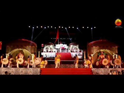Shivrudra Dhol Tasha Pathak Thane.( Aavaj Konacha Dhol Tasha Competition 2016 Malad )