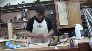 Rob Cosman sets up, sharpens and demonstrates Woodriver chisel plane