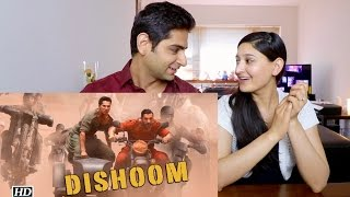 DISHOOM TRAILER REACTION  | DISHOOM OFFICIAL TRAILER