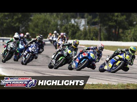 MotoAmerica Supersport Race 2 Highlights at Brainerd