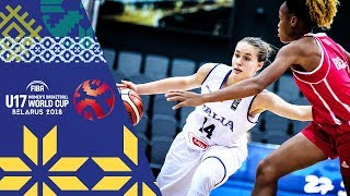 LIVE 🔴- Italy v Mali - FIBA U17 Women's Basketball World Cup 2018