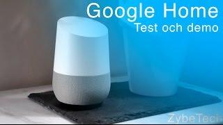 Google Home Sverige