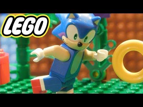 DESAFIO DO SONIC NO LEGO !! (Lego Sonic)