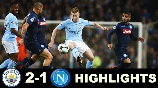 Manchester City vs Napoli  Extended Highlights - Champions League 17/10/2017