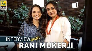 Rani Mukerji Interview with Anupama Chopra | Hichki