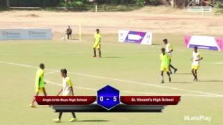 RFYS: Pune Sr. Boys - Anglo Urdu Boys High School vs St. Vincent's High School Highlights