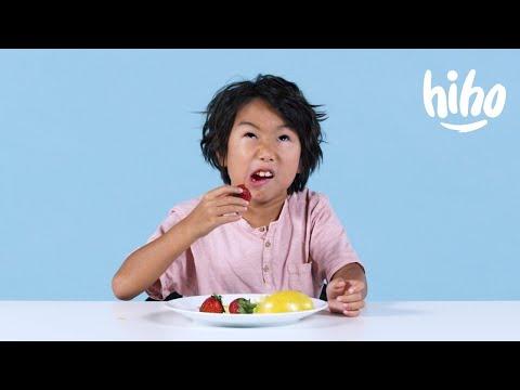 Kids Try Miracle Berries Kids Try HiHo Kids