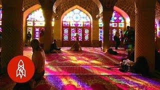 Step Inside Iran's Kaleidoscopic Mosque