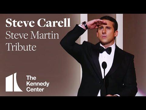 Steve Carrell Steve Martin Tribute 2007 Kennedy Center Honors