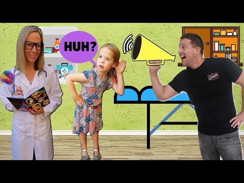 TOY DOCTOR Fixes Maya s Hearing