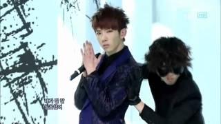 2AM - I Was Wrong (2AM - 잘못했어) @ SBS Inkigayo 인기가요 100321