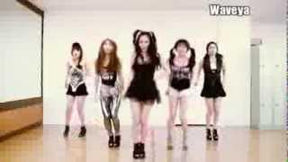 WAVEYA T-ARA N4 Jeon Won Diary Dance practice 웨이브야 티아라 엔포 전원일기