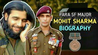 Major Mohit Sharma Biography | Story Of Brave Major Mohit Sharma PARA SF (Hindi)