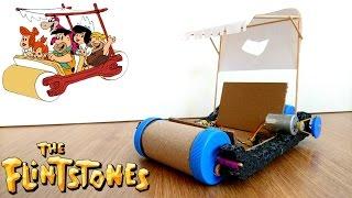 Fred Çakmaktaş Arabası Nasıl Yapılır -DC Motor- How to Make The Flintstones Car