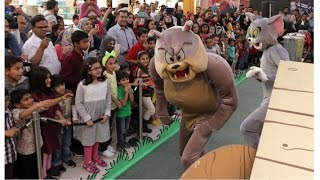Tom & Jerry at Dubai Shopping Festival 2015