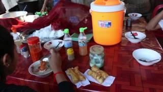 Asian Street Food, Cambodian Street Food Combination, My Village Food