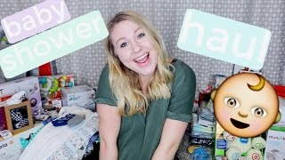 BABY SHOWER HAUL & HUGE THANK YOU!