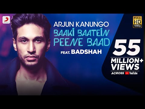 Baaki Baatein Peene Baad - Arjun Kanungo feat. Badshah | Nikke Nikke Shots | Party Song of The Year