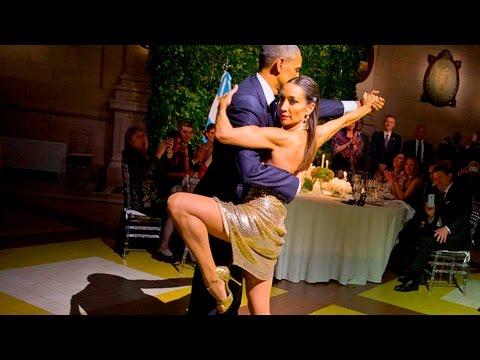 Barack Obama baila Tango en Argentina Vídeo Completo