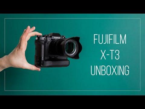 UNBOXING Fujifilm X T3 & XF 18 55mm Kit Lens