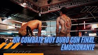 Combate Profesional de Kick Boxing (Diamante Beach)