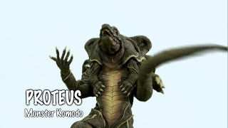 PROTEUS Monster Komodo hidup kembali - Satria Garuda BIMA X