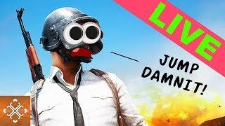 JUMP DAMNIT! - THE GAMER PLAYS PlayerUnknown