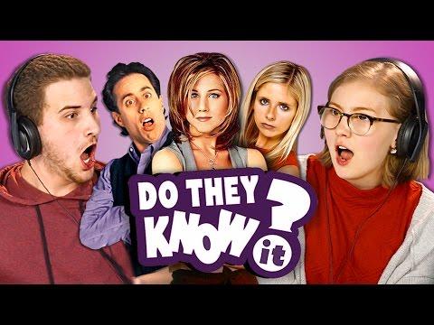 Xxx Mp4 DO TEENS KNOW 90s TV SHOWS REACT Do They Know It 3gp Sex