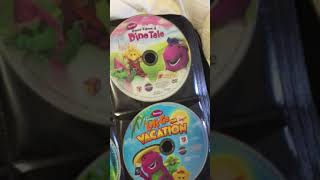 My Barney DVD Collection part 1