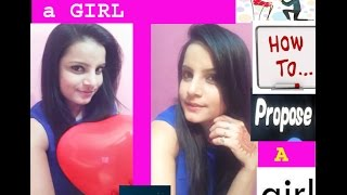 how to propose a GIRL first time in hindi