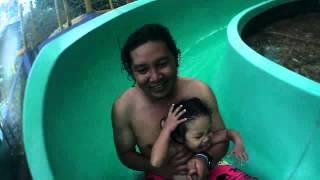 waterpark citraland manado 2 ivy n daddy (action camera)