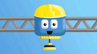 Трактор - Том и Мэтт, грузовички - строители   Мультфильм о машинках для детей