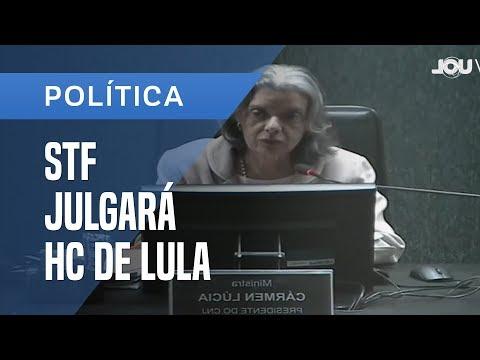 CÁRMEN LÚCIA PEDE QUE SOCIEDADE ENTENDA A JUSTIÇA; STF JULGA LULA NESTA QUARTA