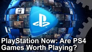 Are PS4 Games Worth Playing On PlayStation Now? Lag and Image Quality Tested!