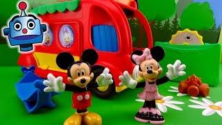 La Autocaravana de Mickey Mouse