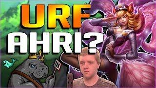 AHRI BUFFS MAKE EVERY GAME URF MODE?? NEW PBE BUFFED AHRI GAMEPLAY - League of Legends