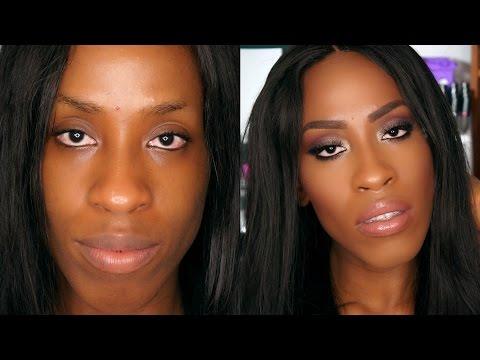 How to Makeup Tips & Tricks for Black Women Eyeshadow blending & more Longer In Depth Tutorial