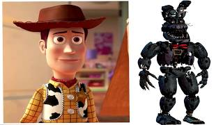Toy Story Toys And Their Favorite Five Nights At Freddy's Animatronics