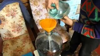 чача из пакетированного виноградного вина - Bayan.Tv - Bayana dair. - Video Portal