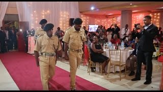 Original Komedi walivyoingia kwenye Harusi ya Masanja na sare za Polisi