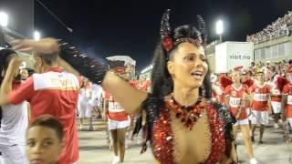 Salgueiro - ensaio técnico - Carnaval 2017 - Viviane Araujo, rainha de bateria