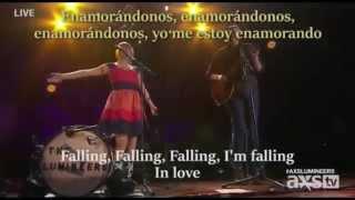 Duet (falling) - The lumineers traducida al español