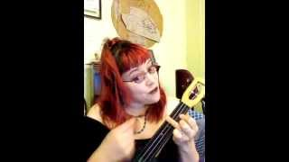 Wurthering Heights Kate Bush Ukulele Cover a-la-poopylungstuffing!