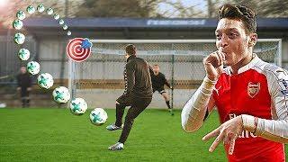 Mesut Özil vs freekickerz ⚽ Fußball Challenge