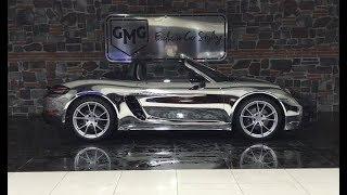Silver Chrome Porsche 718 Boxster - GMG GARAGE