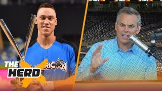 Is Aaron Judge comparable to LeBron James, Kobe Bryant? | THE HERD