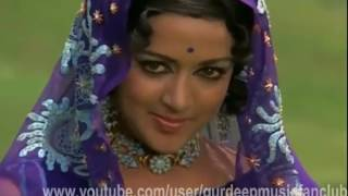 nind chura ke raton me, tumne bato baton me, sharif badmash-1973