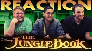 The Jungle Book Official Teaser Trailer REACTION!!
