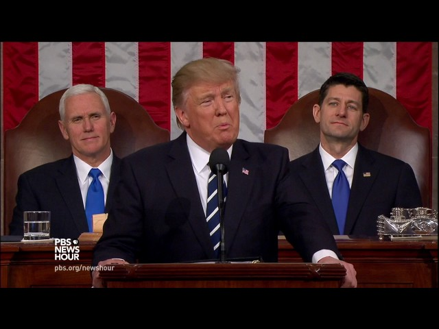 Watch President Trump's full address to a joint session of Congress
