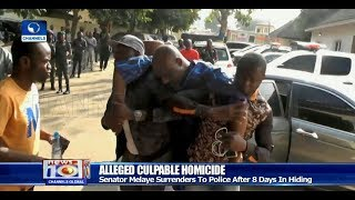 Dino Melaye Surrenders To Police After Eight Days In Hiding Pt.1 04/01/18 |News@10|